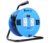 Toshino ล้อเก็บสายไฟสาย VCT 3x1.5 ยาว 20 ม. สีฟ้า รุ่น FM315T-20M