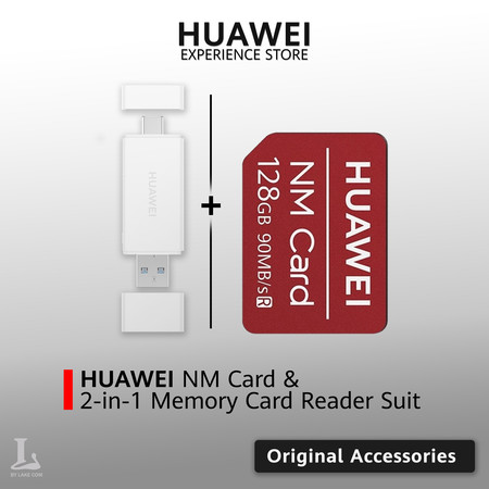 HUAWEI NM Card (128GB) & 2-in-1 Memory Card Reader Suit