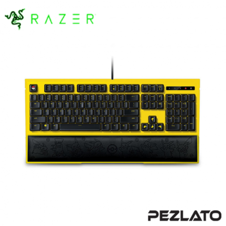 Razer Pokemon Pikachu Ornata Edition Backlit Gaming Keyboard [US]