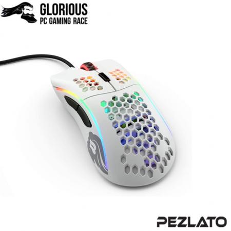 Glorious Model D- Minus Gaming Mouse Matte White (ขาวด้าน)