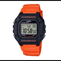นาฬิกา Casio Digital สีส้ม รุ่น W-218H-4B2