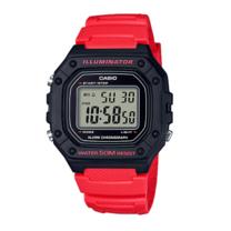 นาฬิกา Casio Digital สีแดง รุ่น W-218H-4B