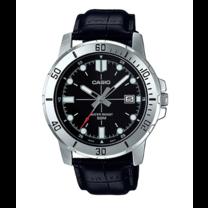 นาฬิกาผู้ชาย Casio Analog สายหนัง รุ่น MTP-VD01L-1E