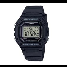 นาฬิกา Casio Digital สีดำ รุ่น W-218H-1A