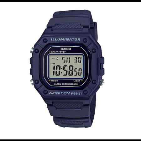 นาฬิกา Casio Digital สีกรม รุ่น W-218H-2A