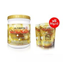 ULTIMATE COLLAGEN GOLD UC-II ผลิตภัณฑ์เสริมอาหาร 250 g 1 กระปุก แถมฟรี ขนาด 50 g 2 ซอง