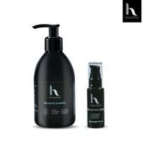 Hair2Pro  Pro-Active Serum เซรั่มลดผมร่วง 1 ชิ้น และ  Hair2Pro Pro-Active Shampoo แชมพูลดผมร่วง 1 ชิ้น (DS)