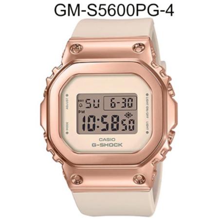 นาฬิกา Casio G-Shock Mini GM-S5600 Series 1ปี CMG สำหรับผู้หญิง รุ่น GM-S5600PG-4