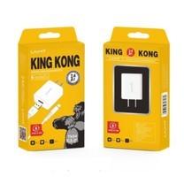 King Kong TK 03-06 ชุด สายชาจ หัวพร้อมสาย 2.4A MAX สำหรับ Port lightning / Micro USB / Type-c