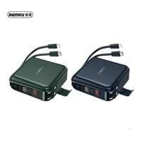 REMAX รุ่น RPP-145 Wireless Power Bank Type-C TO Linhtning แบตสำรอง 10000mAh ชาร์จไร้สาย พร้อม ปลั๊กในตัว 3 in 1