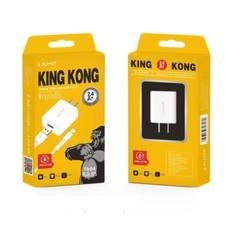 สายชาร์จ King Kong TK 03-06 ชุด สายชาจ หัวพร้อมสาย 2.4A MAX สำหรับ Port lightning / Micro USB / Type-c