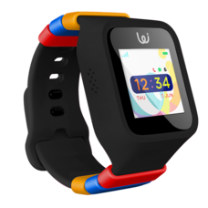 Waffle 3G (Black) นาฬิกาสำหรับเด็ก