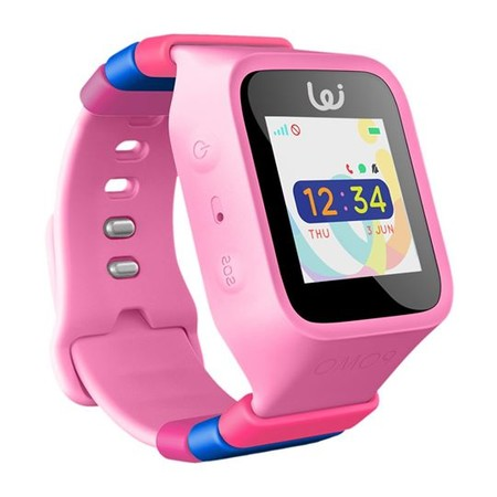 Waffle 3G ฺ(Pink) นาฬิกาสำหรับเด็ก