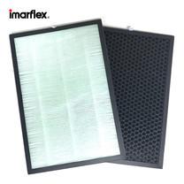 Imarflex ฟิลเตอร์ HEPA และ ฟิลเตอร์ CARBON พัดลมฟอกอากาศ รุ่น F-C042R(FT)