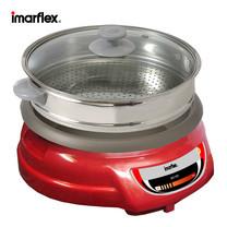 Imarflex หม้อสุกี้อเนกประสงค์ความจุ 3 ลิตร เคลือบ Non-Stick รุ่น LP-846