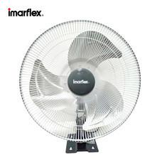 Imarflex พัดลมอุตสาหกรรม ติดผนัง ใบอะลูมิเนียม 3 ใบพัด ขนาด 18 นิ้ว สีดำ รุ่น IF-W450
