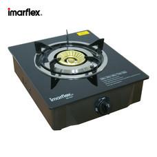 Imarflex เตาแก๊สหัวเดี่ยวหน้ากระจก 1 หัวเตา รุ่น IG-431