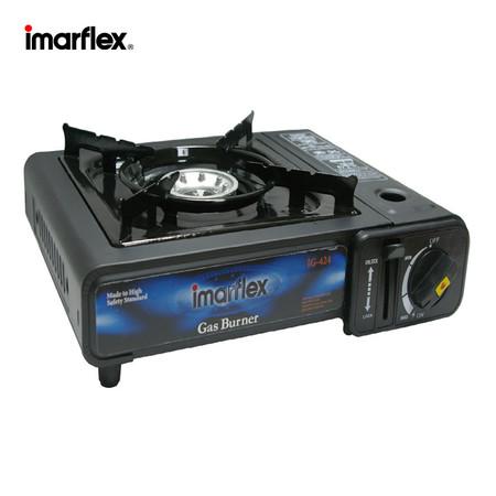 Imarflex เตาแก๊สปิคนิค ใช้กับแก๊สกระป๋อง บรรจุในกระเป๋า รุ่น IG-424