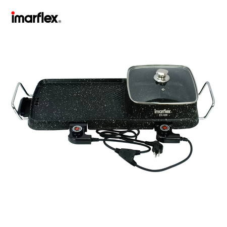 Imarflex เครื่องปิ้งย่างอเนกประสงค์ เคลือบ Non-stick รุ่น EG-648