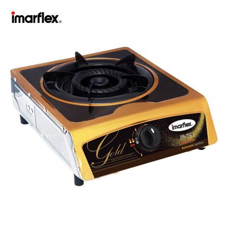 Imarflex เตาแก๊สหัวเดี่ยวรมดำ รุ่น IG-609