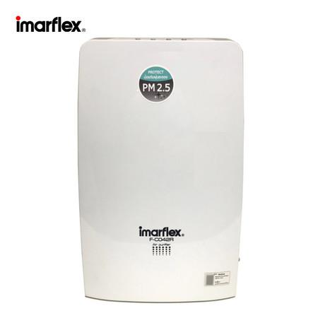 Imarflex เครื่องฟอกอากาศ สีทูโทน รุ่น F-C042R - ฟอกอากาศ PM 2.5