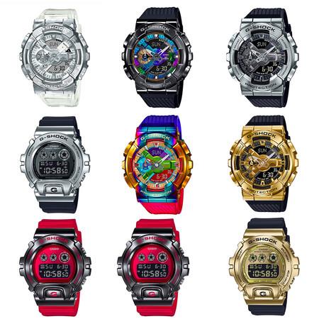 นาฬิกา G-SHOCK รุ่น GM-110 และ GM-6900 Series