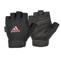 Adidas ถุงมือ Essential Adjustable (สีชมพู) 1 คู่