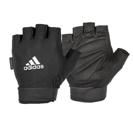 Adidas ถุงมือ Essential Adjustable (สีขาว) 1 คู่