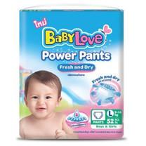 [ส่งฟรี! ทุก Order] เบบี้เลิฟ (BabyLove) พาวเวอร์ แพ้นส์ เฟรช แอนด์ ดราย กางเกงผ้าอ้อมสำเร็จรูป แพ็คจัมโบ้ 3 แพ็ค