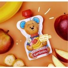 Bambolina Apple and Banana Puree 90g (1pc)