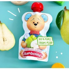 Bambolina Pear Puree 90g (1pc)