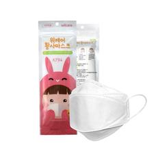 WiiCare Mask KF94 หน้ากากป้องกันฝุ่นละออง PM2.5 และเชื้อโรค (5 ชิ้น/แพ็ค) *สำหรับเด็ก*
