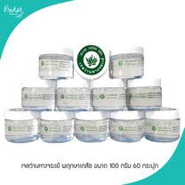 เจลว่านหางจระเข้ พฤกษาเภสัช Aloe vera gel pruksabhaesaj ขนาด 100 กรัม 60 กระปุก