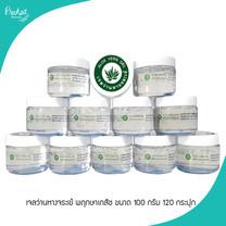 เจลว่านหางจระเข้ พฤกษาเภสัช Aloe vera gel pruksabhaesaj ขนาด 100 กรัม 120 กระปุก