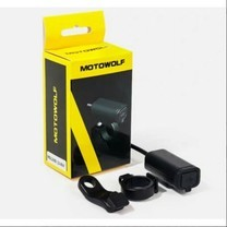 MOTOWOLF ที่ชาร์จโทรศัพท์สำหรับมอเตอร์ไซค์ ที่ชาร์จมือถือติดมอเตอร์ไซค์ ของแท้