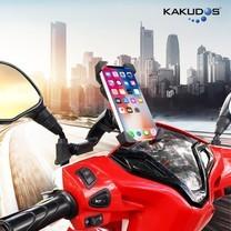 ที่ยึดโทรศัพท์กับมอเตอร์ไซค์KAKUDOS MK805 ยึดติดกับแกนก้านกระจกมองข้าง