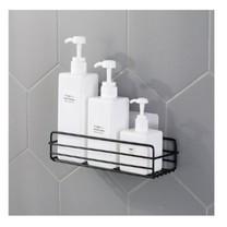 ตะกร้าวางของสีเหลี่ยม อเนกประสงค์ ห้องน้ำ ห้องครัวเบ็ดเตล็ด