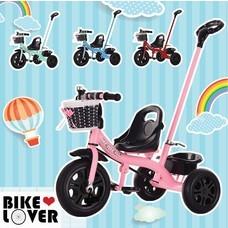 Bike Lover จักรยานเด็ก 3 ล้อ มีด้ามเข็น