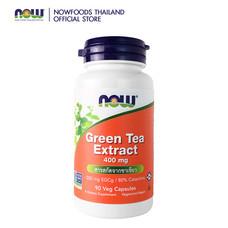 นาวฟูดส์ สารสกัดจากชาเขียว 400 มิลลิกรัม 90 แคปซูล EGCG (ผลิตภัณฑ์อาหารเสริม)