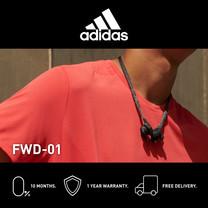 Adidas FWD-01 หูฟังอินเอียร์บลูทูธ สี NIGHT GREY - จัดส่งฟรี + รับประกัน 1 ปี (หูฟังออกกำลังกายบลูทูธ, ทนเหงื่อ/กันน้ำ, เบสหนัก)