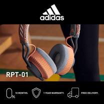 Adidas RPT- 01 หูฟังออนเอียร์บลูทูธ สี SIGNAL CORAL - จัดส่งฟรี + รับประกัน 1 ปี (หูฟังออกกำลังกาย บลูทูธ, ทนเหงื่อ/กันเหงื่อ, เบสหนักๆ)