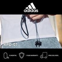 Adidas RPD-01 หูฟังอินเอียร์บลูทูธ สี NIGHT GREY - จัดส่งฟรี + รับประกัน 1 ปี (หูฟังออกกำลังกายบลูทูธ, ทนเหงื่อ/กันน้ำ, เบสหนัก)