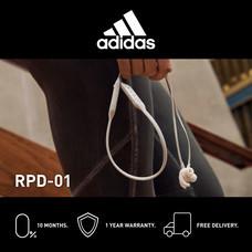 Adidas RPD-01 หูฟังอินเอียร์บลูทูธ สี LIGHT GREY - จัดส่งฟรี + รับประกัน 1 ปี (หูฟังออกกำลังกายบลูทูธ, ทนเหงื่อ/กันน้ำ, เบสหนัก)