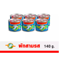 ผักกาดดอง นกพิราบ สามรส (Pack 6 ) 140 G.