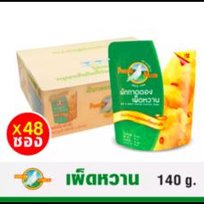ตรานกพิราบ  ผักกาดดอง เผ็ดหวานซอง  145 G. ( 1 ลัง / 48 ซอง )