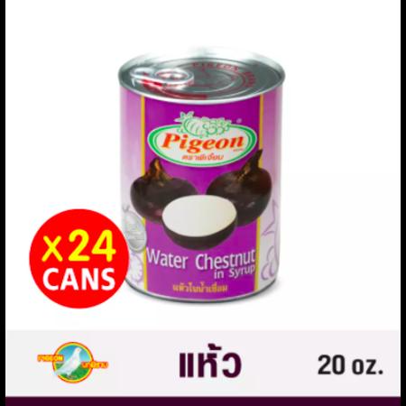 แห้วในน้ำเชื่อม ตราพีเจี้ยน 20 oz. Pack 24 กระป๋อง