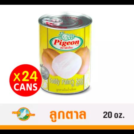ลูกตาลในน้ำเชื่อม ตราพีเจี้ยน 20 oz. Pack 24 กระป๋อง