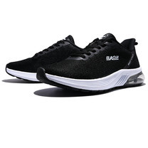 BAOJI รองเท้าผ้าใบชาย รุ่น BJM574-สีดำ/ขาว