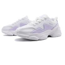 รองเท้าผ้าใบผู้หญิง รุ่น BJW743-สีขาว/ม่วง