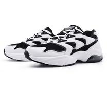 รองเท้าผ้าใบผู้หญิง รุ่น BJW728-สีขาว/ดำ